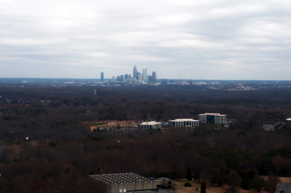 Aerial View Of Charlotte City Free Stock Photo Public