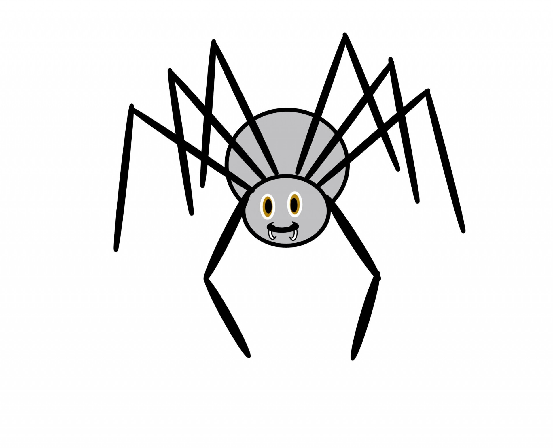 Clip Art Spider Free Stock Photo
