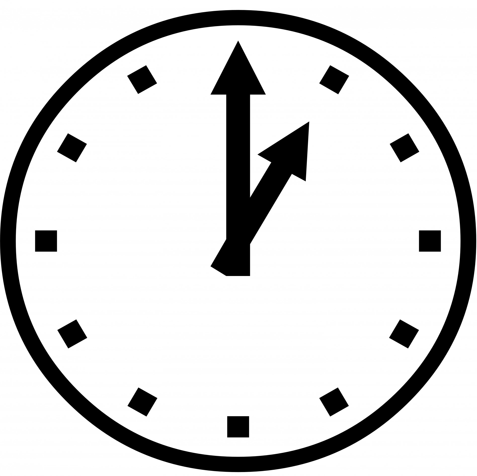 Clock Icon Free Stock Photo