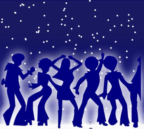 Dance Party-Vektorgrafiken