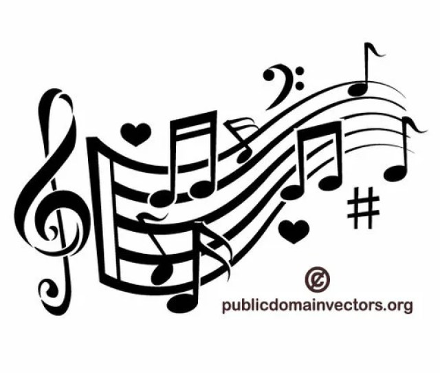 Music Theme Vector Image Public Domain Vectors