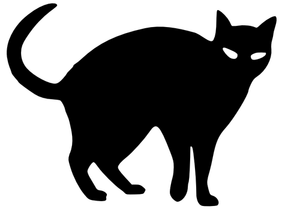 You can use them for … 21618 Halloween Black Cat Clip Art Free Public Domain Vectors
