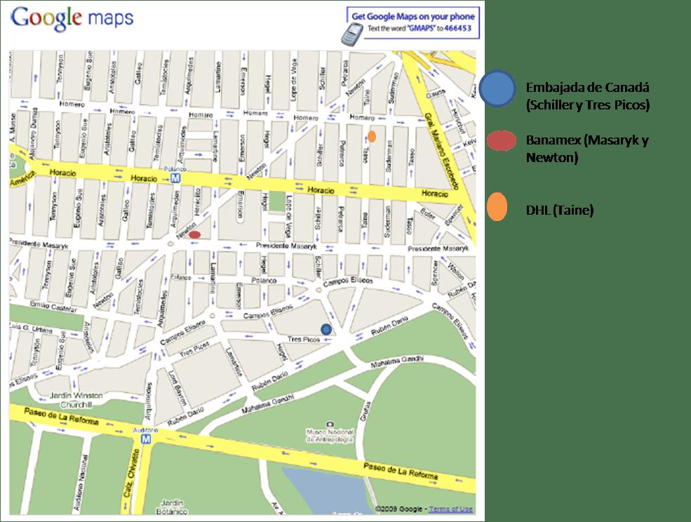 Embajada Canadiense en México