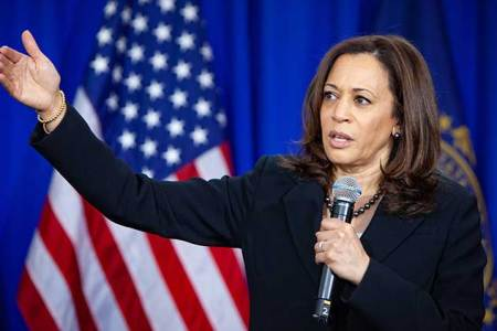 A picture of Senator Kamala Harris