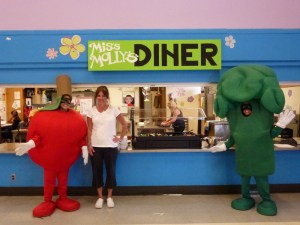 Staff and the Food Rangers, characters developed through the SLN to help promote healthy eating.