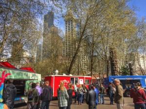 Food truck photo
