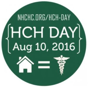 HCH Day (August 10) specifically celebrates Health Care for the Homeless (HCH) Projects (from the National Health Care for the Homeless Council)