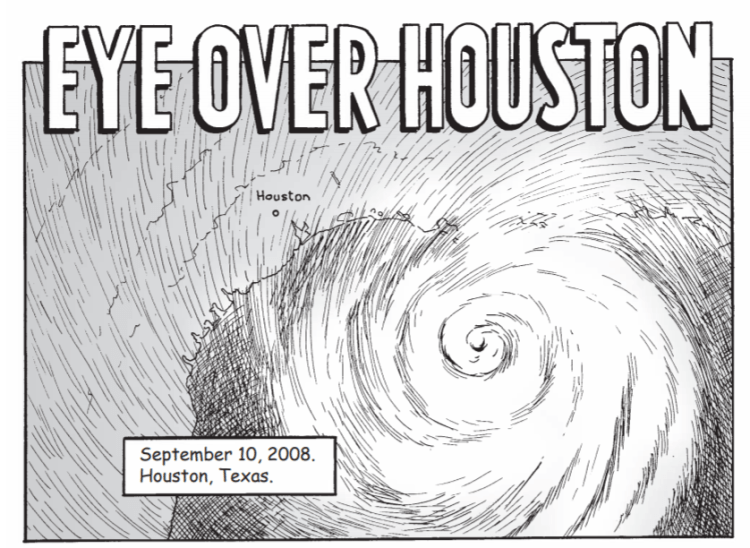 Eye over Houston