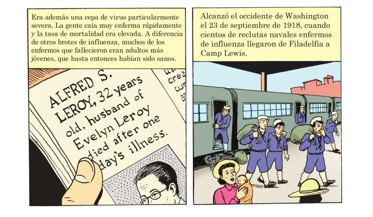 Pandemic panel 2B Spanish