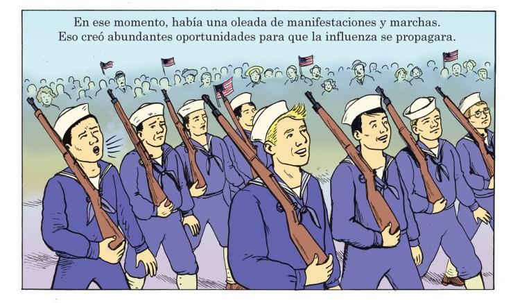 Pandemic panel 2C Spanish