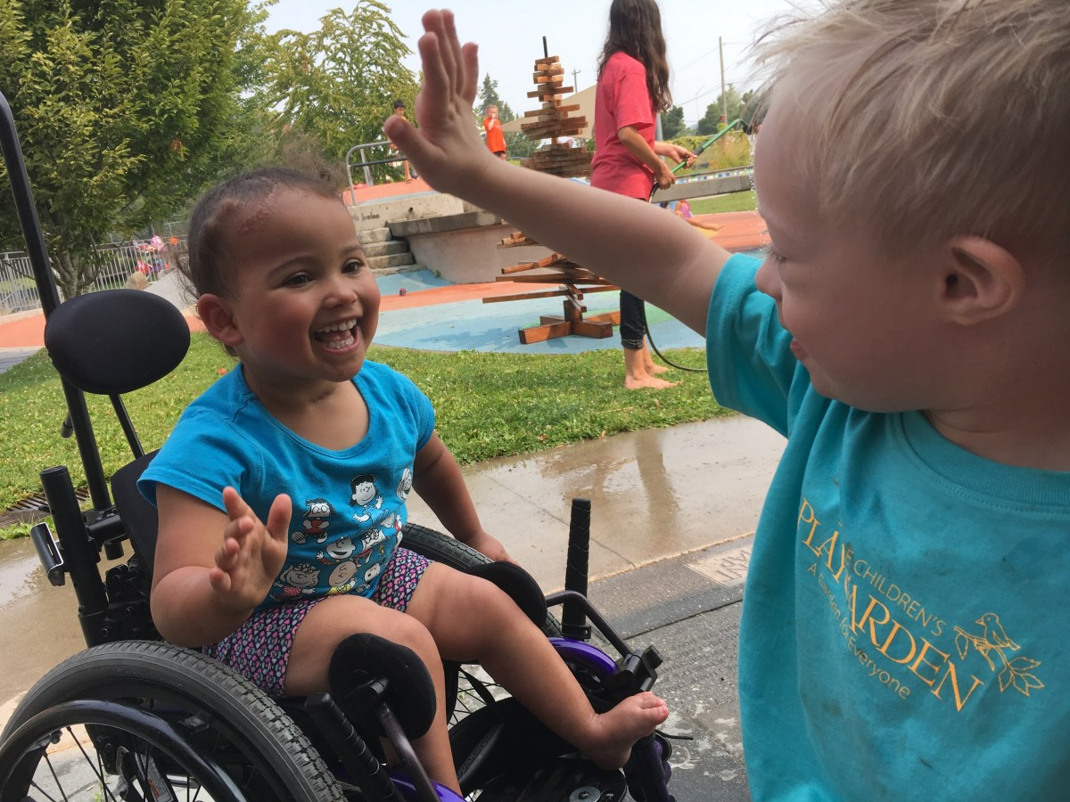 "Every body can play! Easy ways to say ""yes!"" to kids with disabilities"
