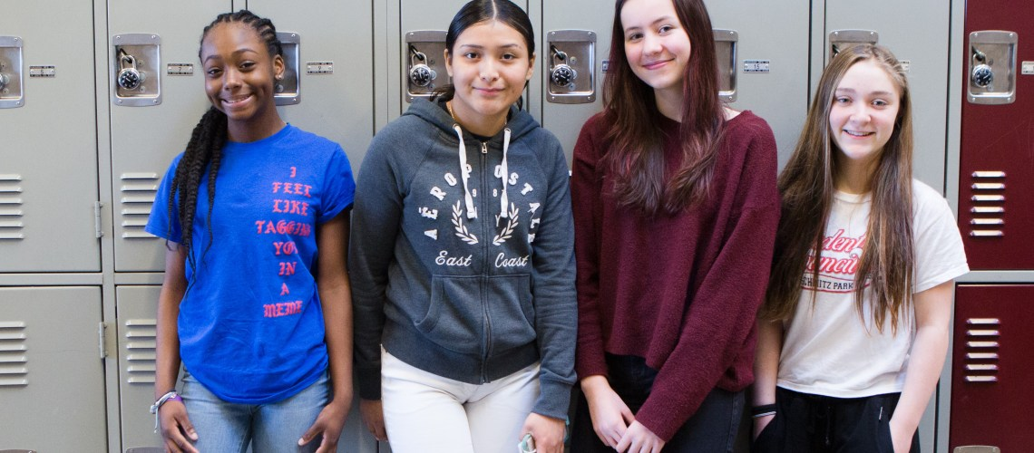 These Seattle teens are fans of their School Based Health Center (photo credit: Neighborcare Health)
