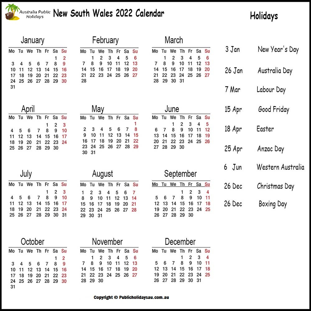 While we receive compensation when you click links to pa. 2022 Public Holidays Nsw