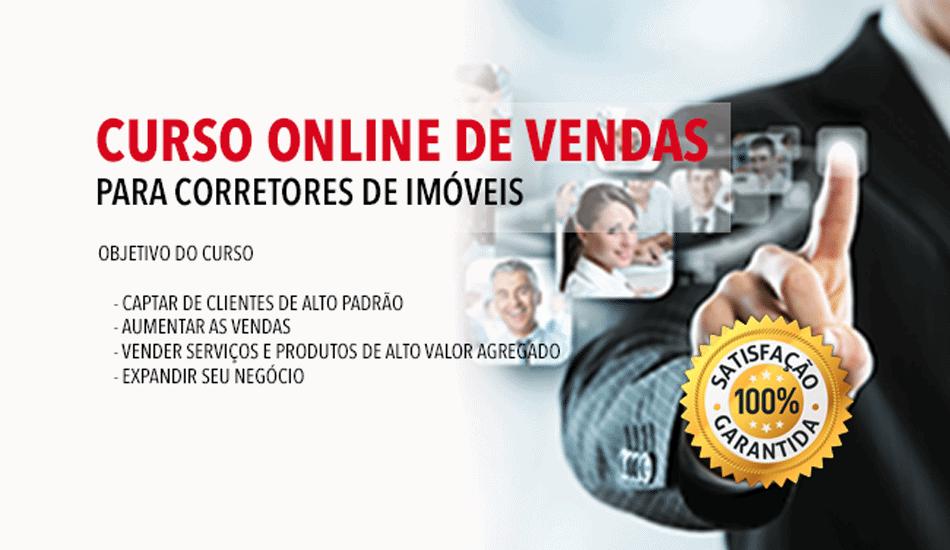 Curso Online De Vendas Para Corretores De Imoveis Publicidade Imobiliaria