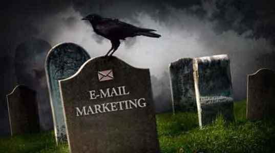 o email marketing morreu deixando estupefatos muitos internautas