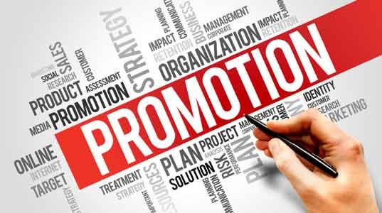 plano de marketing promoção