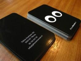 tarjetas blanco y negro Ecuadorne