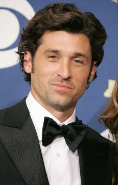 LOS ANGELES, CA - SEPTEMBER 18: Actor Patrick Dempsey poses in the press room at the 57th Annual Emmy Awards held at the Shrine Auditorium on September 18, 2005 in Los Angeles, California. (Photo by Kevin Winter/Getty Images)