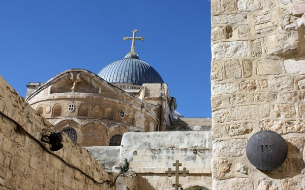 christian holy sites in israel