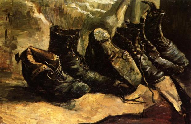 Van Gogh, Three Pairs of Shoes