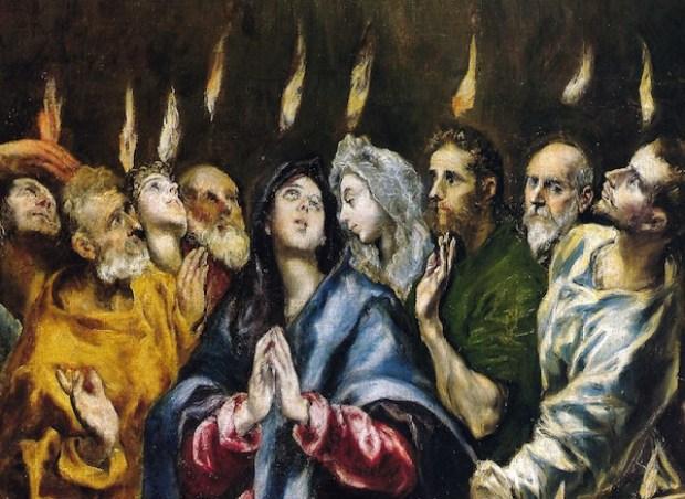 Pentecost, El Greco
