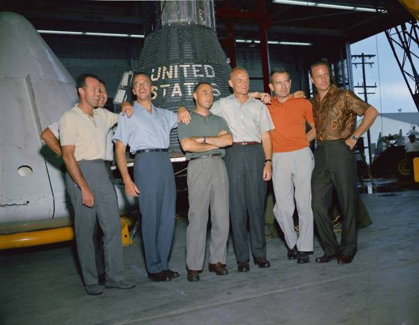 The Mercury 7 moment 56 years later NewsCut
