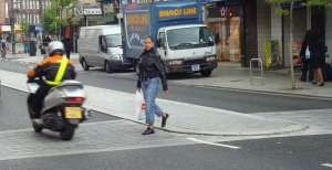 An informal crossing can be effective and safe if drivers now what to expect