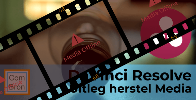 Media offline in DaVinci Resolve verhelpen.