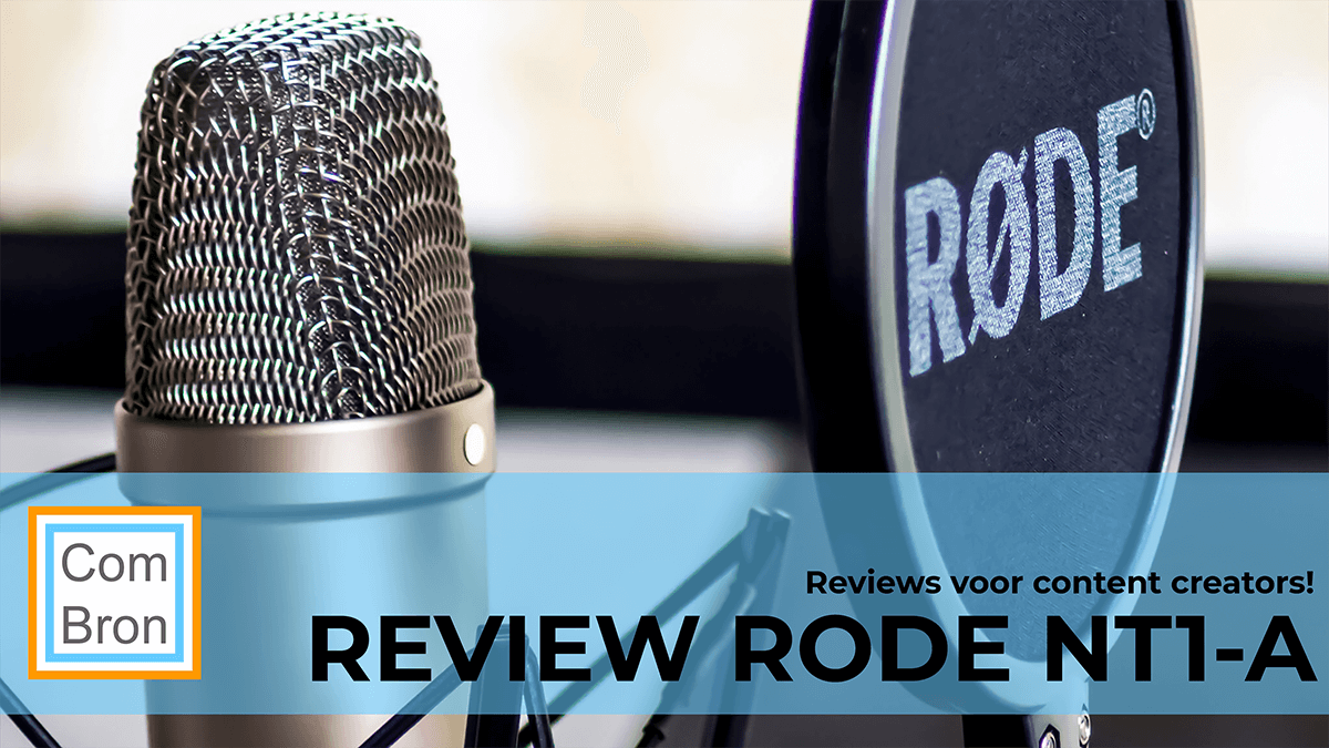 Review Rode NT1-A condensatormicrofoon.