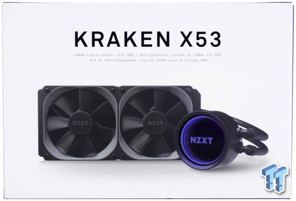 NZXT Kraken X53 AIO Liquid CUP Cooler Review