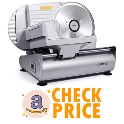 CUSIMAX Meat Slicer Electric Food Slicer with Blade
