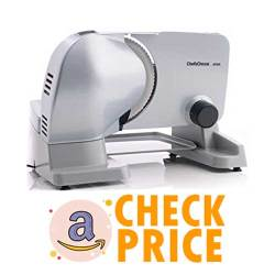 Chef'sChoice 609A000 Electric Meat Slicer with Stainless Steel Blade
