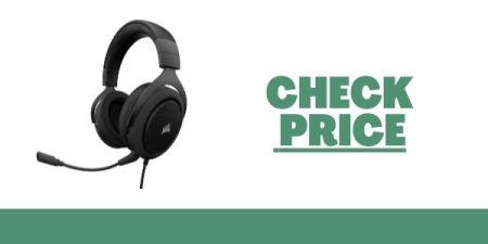 Corsair HS50 Stereo Gaming Headset - Discord Certified Headphones