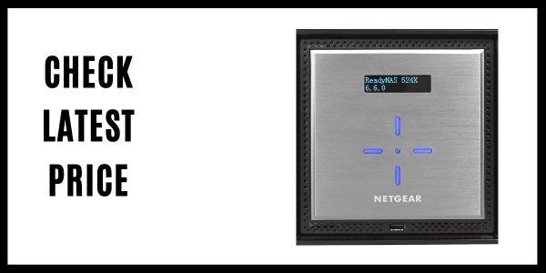 NETGEAR ReadyNAS RN524X00 100NES 4 Bay Diskless Premium Performance NAS