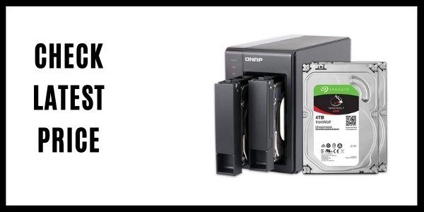QNAP 2 QNAP 2 Bay NAS with 4TB Storage CapacityNAS