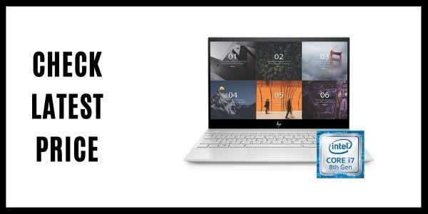 HP ENVY 13-aq0044nr Thin Laptop w Fingerprint Reader