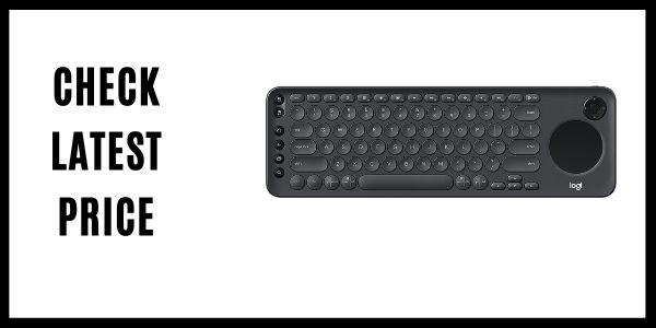 Logitech K600 TV - TV Keyboard D-Pad Compatible with Smart TV