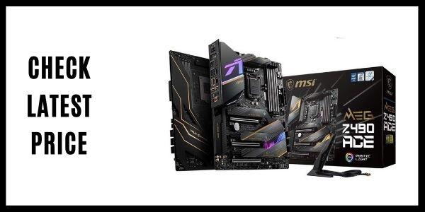 MSI MEG Z490 ACE Gaming Motherboard