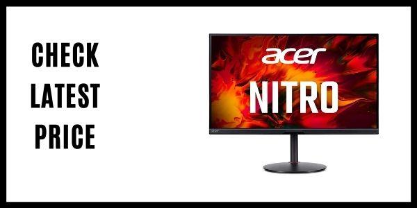 Acer Nitro XV282K KVbmiipruzx IPS Gaming Monitor