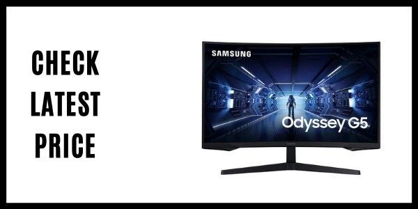 SAMSUNG (LC32G55TQWNXZA)32-Inch Odyssey G5 Gaming Monitor
