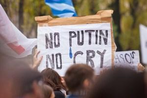 EuroMaidan protest, Kiev, Dec. 1, 2013 © Alexandra (Nessa) Gnatoush | Flickr
