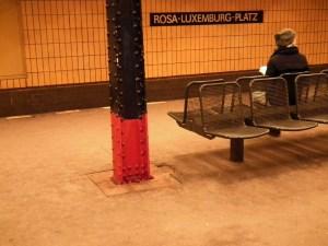 Rosa Luxemburg Station, Berlin, 2012 © Christiane Wilke   Flickr