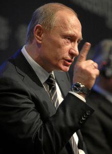 Vladimir Putin in 2009 at the World Economic Forum Annual Meeting in Davos © World Economic Forum | Flickr