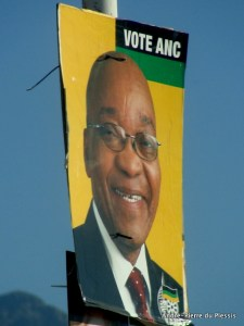 Jacob Zuma campaigning in Ladismith, South Africa © André-Pierre du Plessis | Flickr