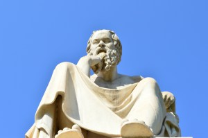 Socrates @ Academy of Athens #2 © Raffaele | Flickr