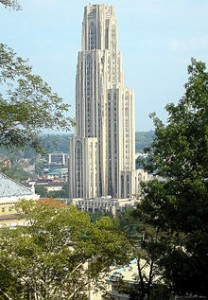 The Cathedral of Learning at Pitt is the largest university building in the western hemisphere.
