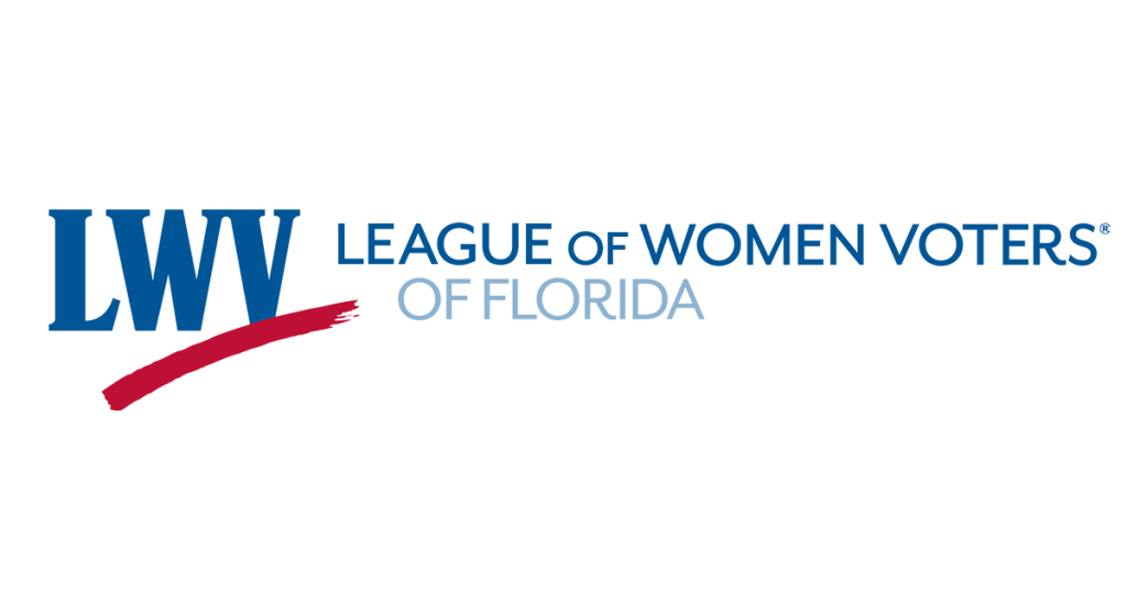 Logo for League of Women Voters of Florida