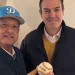 [Video] AMLO beisbolista regresa: así presumió su encuentro con el 'Rocket' Valdéz