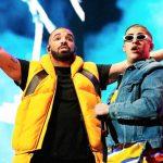 Escucha a Drake cantar en español con Bad Bunny en Mía
