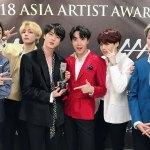 BTS triunfa en los #AAA2018 y esta cerca de obtener ¡100 premios este año!